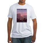 Colorado Sunset Fitted T-Shirt