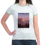 Colorado Sunset Jr. Ringer T-Shirt