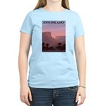 Colorado Sunset Women's Pink T-Shirt