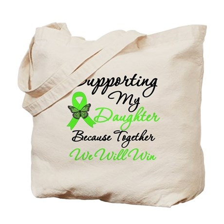 Lymphoma Support (Daughter) Tote Bag
