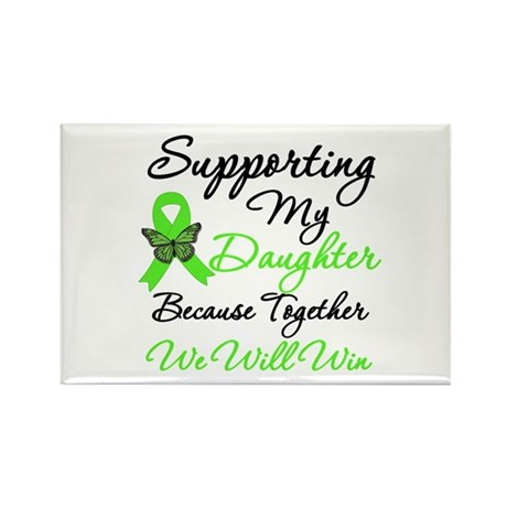 Lymphoma Support (Daughter) Rectangle Magnet (10 p