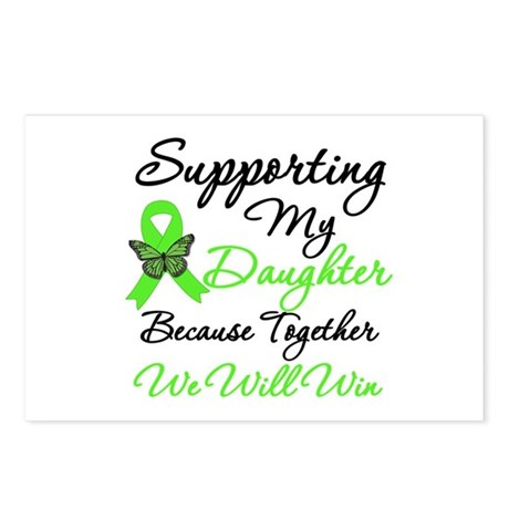 Lymphoma Support (Daughter) Postcards (Package of