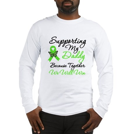 Lymphoma Support (Daddy) Long Sleeve T-Shirt