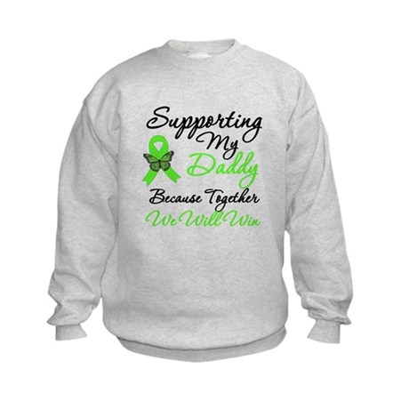 Lymphoma Support (Daddy) Kids Sweatshirt