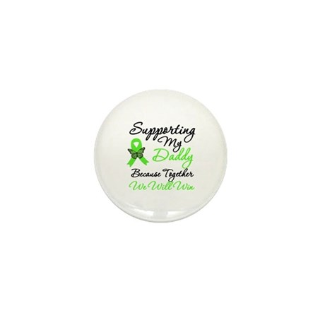 Lymphoma Support (Daddy) Mini Button (10 pack)