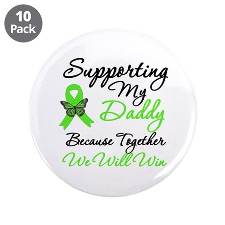 "Lymphoma Support (Daddy) 3.5"" Button (10 pack)"