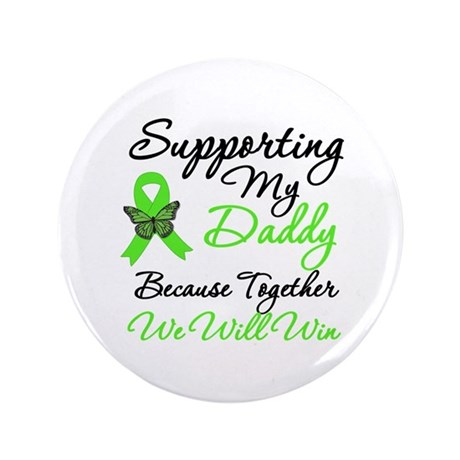 "Lymphoma Support (Daddy) 3.5"" Button (100 pack)"