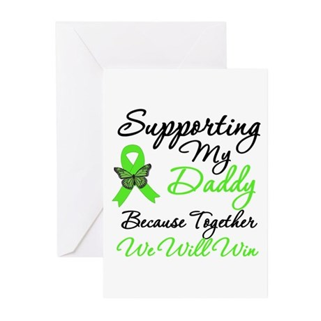 Lymphoma Support (Daddy) Greeting Cards (Pk of 10)