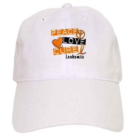 PEACE LOVE CURE Leukemia (L1) Cap