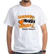 PEACE LOVE CURE MS Shirt