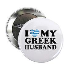 I love My Greek Husband Button