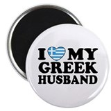 I love My Greek Husband Magnet