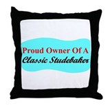 """Proud Stude Owner"" Throw Pillow"