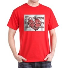 Keyshawn broke my heart and I hate him T-Shirt