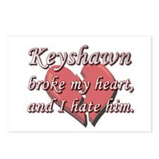 Keyshawn broke my heart and I hate him Postcards (