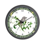 Mockingbird Wall Clock
