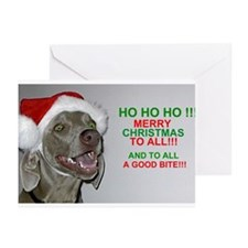 Unique Weims Greeting Cards (Pk of 20)
