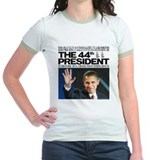 Obama: The 44th President 2-sided T