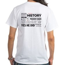 Witness to History/Historic Headlines Shirt