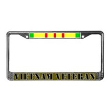 Vietnam Veteran License Plate Frame