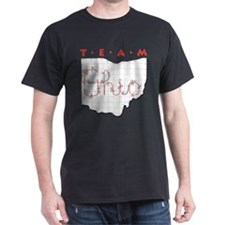 Black Team Ohio T-Shirt