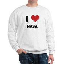 I Love NASA Sweatshirt