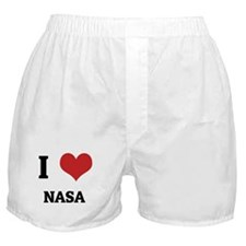 I Love NASA Boxer Shorts