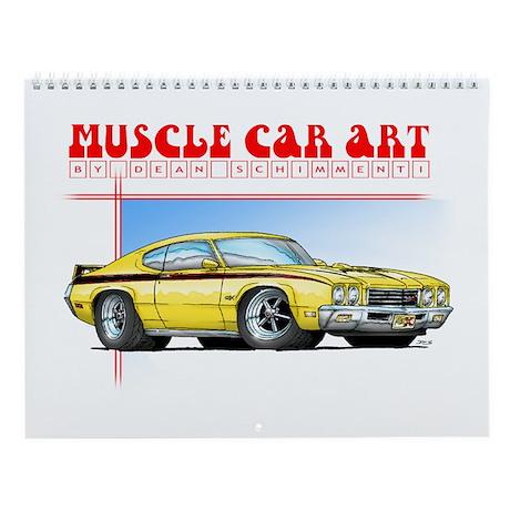Muscle Car Art Calendar