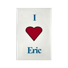 Heart Eric Rectangle Magnet