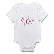 Cute Aidan boy Infant Bodysuit