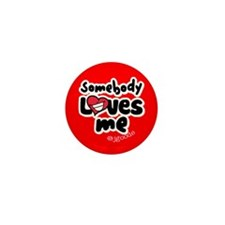 Love Button 5 Mini Button (100 pack)
