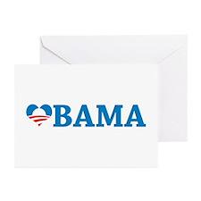 Obama Love Greeting Cards (Pk of 10)