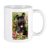 Black Miniature Schnauzer Small Mugs