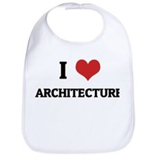 I Love Architecture Bib