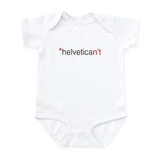 Helvetican't Infant Bodysuit