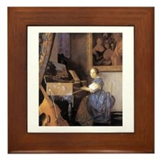 Vermeer Framed Tile