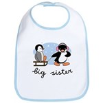 Big Sister - Penguin Bib
