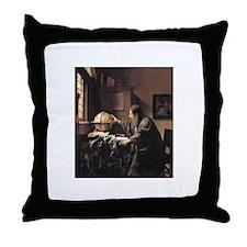 Vermeer Throw Pillow