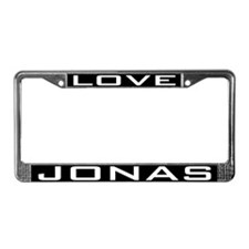 Love Jonas License Plate Frame