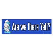 Are We There Yeti? (sticker)