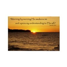 Morning by morning... Rectangle Magnet (10 pack)