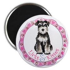 Miniature Schnauzer Valentine Magnet
