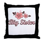Big Sister - Hibiscus Throw Pillow
