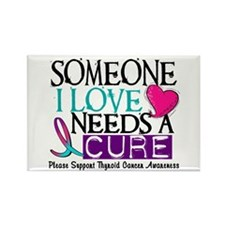 Needs A Cure THYROID DISEASE Rectangle Magnet (10