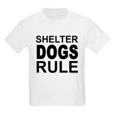 Shelter Dogs Rule T-Shirt