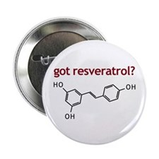 "Got Resveratrol 2.25"" Button (10 pack)"