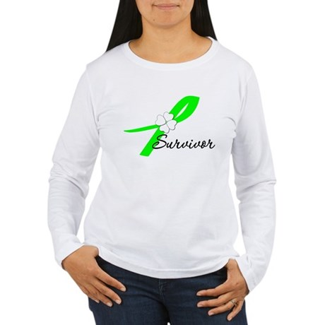 Lymphoma Survivor Women's Long Sleeve T-Shirt