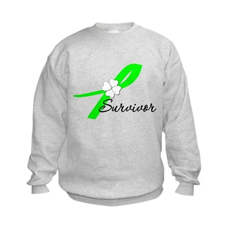 Lymphoma Survivor Kids Sweatshirt