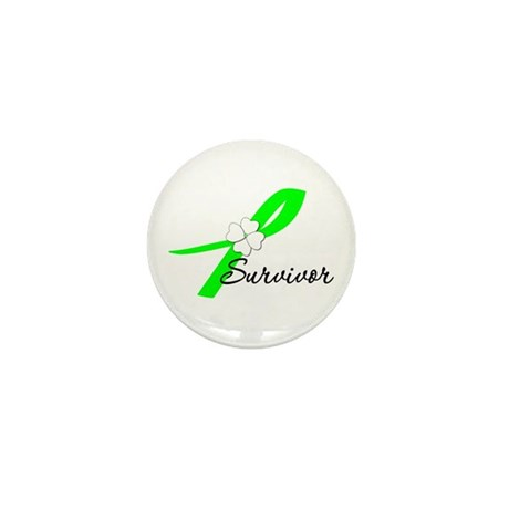 Lymphoma Survivor Mini Button (10 pack)