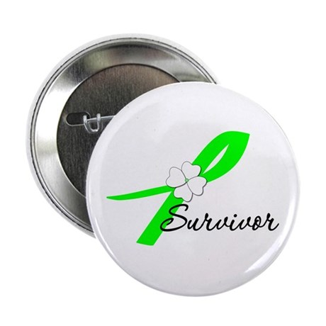 Lymphoma Survivor 2.25&quot; Button (10 pack)
